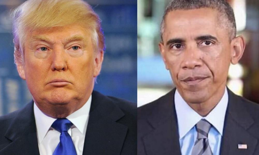 Image result for Trump Vs Obama